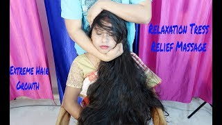 Download Relaxation Massage for Extreme Long Hair Growth | Tress Relief Massage Video