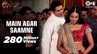 Download Main Agar Saamne Full Video - Raaz | Dino Moreo & Bipasha Basu | Abhijeet & Alka Yagnik Video