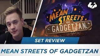 Download Reynad's Mean Streets of Gadgetzan Set Review! [Hearthstone] Video