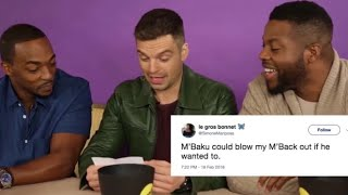 Download Anthony Mackie, Sebastian Stan and Winston Duke, their BEST Moments! Video