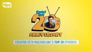 Download Family Guy: Seth MacFarlane's Top 20 Family Guy Episodes   TBS Video