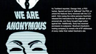 Download ANONYMOUS - OPERATION PAYBACK - Sony Press Release Video
