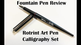 Download Rotring Art Pen Calligraphy Set Video