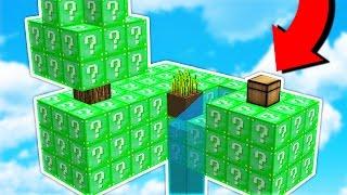 Download OVERPOWERED vs OVERPOWERED! - Emerald Lucky Block Sky Warriors (Minecraft Mods) Video