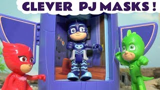 Download PJ Masks toy stories with Thomas and Friends toy trains and Play Doh - Fun toys for kids TT4U Video
