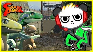 Download Lego Jurassic World RAPTOR QUEST Let's Play with Combo Panda Video