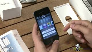 Download Apple iPhone 4s first time start up and unboxing Video