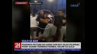 Download Pagpapa-picture ng isang fan kay Gilas Pilipinas point guard Terrence Romeo, nauwi sa gulo Video
