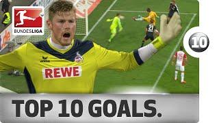 Download Top 10 Strange Goals - 2014/15 Video