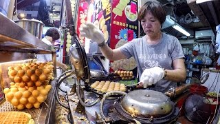 Download Hong Kong Night Walk in Mong Kok. Markets, Street Food, Musicians, Magicians and More Video
