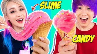 Download SLIME FOOD VS CANDY FOOD CHALLENGE! Video