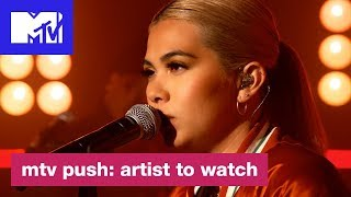 Download Hayley Kiyoko Performs 'Let It Be' | MTV Push: Artist to Watch Video