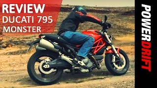 Download Ducati 795 Monster : Review : PowerDrift Video
