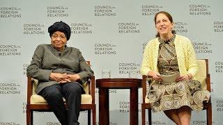 Download Darryl G. Behrman Lecture on Africa Policy With Ellen Johnson Sirleaf Video