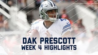 Download Dak Prescott Highlights | Cowboys vs. 49ers | NFL Week 4 Player Highlights Video