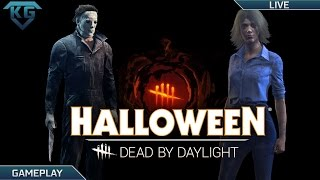 Download Dead by Daylight 1.2.1! | New Halloween DLC! - 500k Bloodpoints! - Michael Myers - Laurie Strode! Video