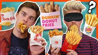 Download BLINDFOLD FRENCH FRY CHALLENGE w/MatPatGT Video