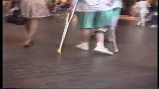 Download crutchman polio expo ( polio leg braces, crippled woman crutching, wheelchair) Video