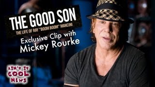 Download AICN Exclusive Clip - The Good Son featuring Mickey Rourke Video