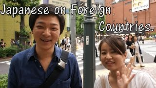 Download What Japanese Think of Foreign Countries? (Interview) Video