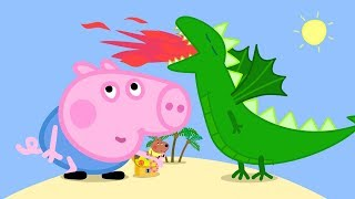 Download Peppa Pig English Episodes in 4K | George and the BIG Dragon! Peppa Pig Official Video