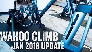 Download January 2018: Quick Wahoo CLIMB Update! Video