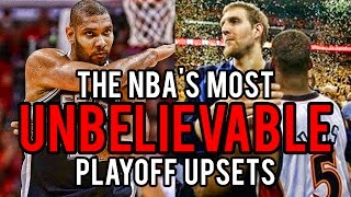 Download The 5 GREATEST UPSETS in NBA Playoff History! Video
