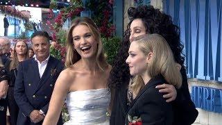 Download MAMMA MIA! 2 Here We Go Again WORLD PREMIERE - Meryl Streep, Cher, Lily James, Amanda Seyfried Video