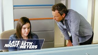 Download Seth Meyers Chews Out the Late Night Staff Video