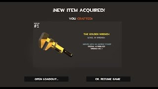 Download TF2: How to craft the Golden Wrench Video