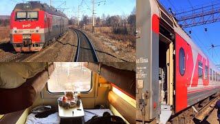 Download Trans-Siberian Railway Winter Journey - part 1: Vladivostok - Belogorsk on Train № 007НЭ Video