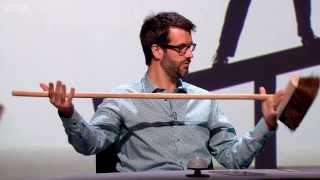 Download Balancing a broom - QI: Series K Episode 9 Preview - BBC Two Video