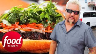 Download Phone Shop Turned Restaurant Makes Delicious Vietnamese BBQ Brisket | Diners, Drive-Ins & Dives Video