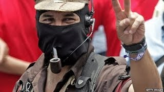 Download PIPE-SMOKING REBEL WHO TOOK ON MEXICO STATE - WITNESS - BBC NEWS Video