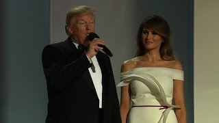 Download President Trump arrives at Liberty ball Video