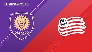 Download HIGHLIGHTS: Orlando City SC vs. New England Revolution   August 4, 2018 Video
