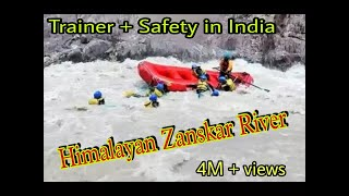 Download Ladakh Raft flip and Rescue |Salute to Trainer |River Rafting in Leh Ladakh - Toughest in India Video