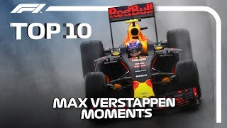 Download Top 10 Moments of Max Verstappen Magic in F1 Video