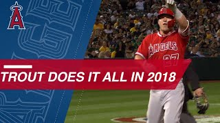 Download Mike Trout has another outstanding season in 2018 Video