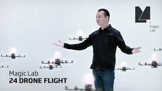 Download MagicLab - 24 Drone Flight Video