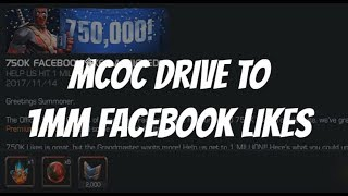 Download MCOC Drive to 1 Million Facebook Likes - Marvel Contest of Champions Video