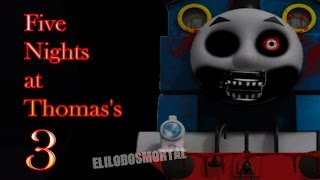 Download Five Nights at Thomas's 3 | Noche 1 y 2 | GAMEPLAY | THOMAS CON FIVE NIGHTS AT FREDDY'S Video