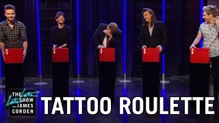 Download Tattoo Roulette w/ One Direction Video