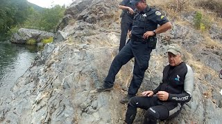 Download State Police Interrupt a Gold Mining Operation in Oregon! Video
