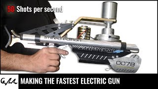 Download DIY electric rotary gun | 50 shots per second Video