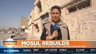 Download Mosul Rebuilds: A year after ISIS leave, 800,000 residents return to city Video