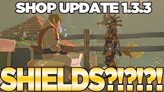 Download Shop Update 1.3.3... WHERE'S THE HYLIAN SHIELD in Breath of the Wild?! | Austin John Plays Video
