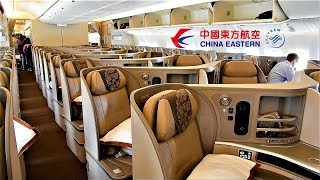 Download China Eastern Business Class 777 Chicago O'Hare to Shanghai Pudong Video