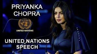 Download Priyanka Chopra FULL SPEECH at United Nations 2017 Video