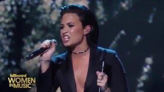Download Demi Lovato - Stone Cold (Live at Billboard's Women In Music) Video